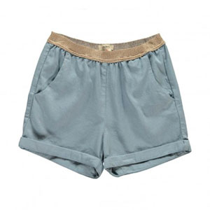 Short Lirio Bleu