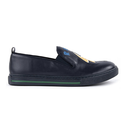 Slip on cuir Patch