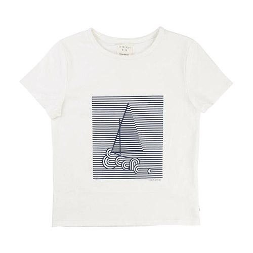 T-shirt Voilier Blanc