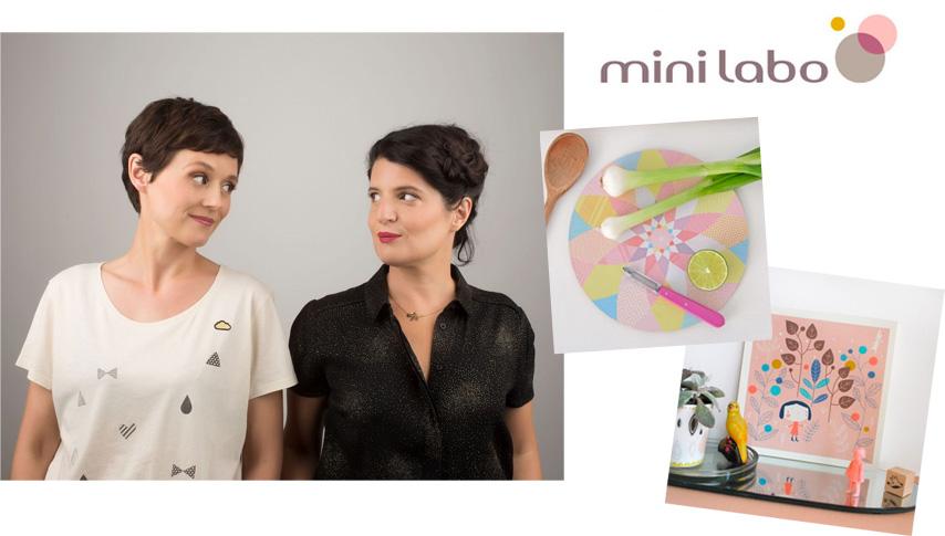 Caroline Diaz et Céline Héno de Mini Labo