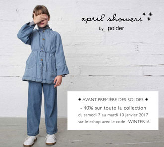 Pré-soldes April Showers