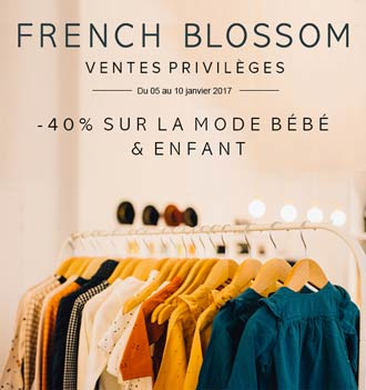 Ventes privilèges French Blossom