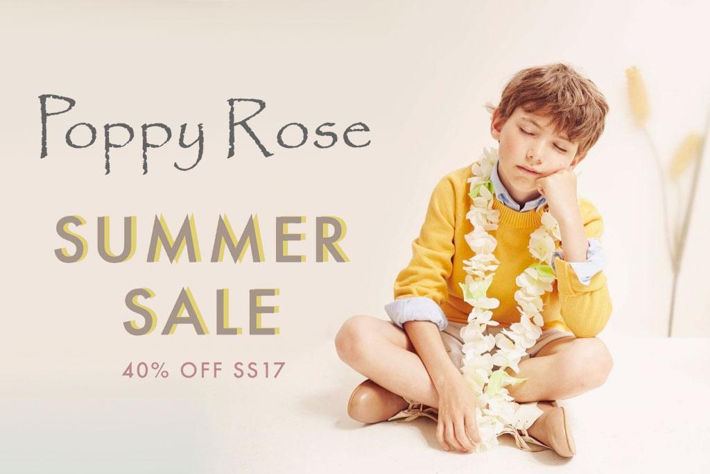 Soldes Poppy Rose