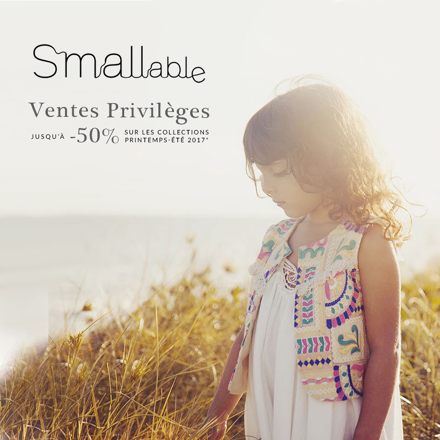Ventes privilèges Smallable