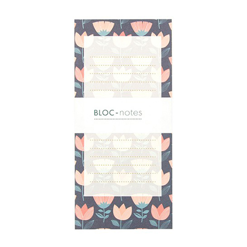 Bloc Notes Tulipes