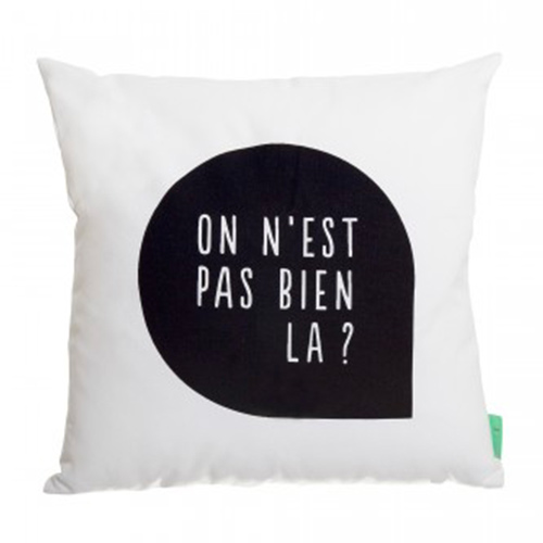 Coussin paisible