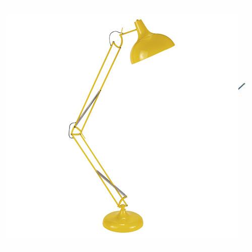 Lampe Métal jaune