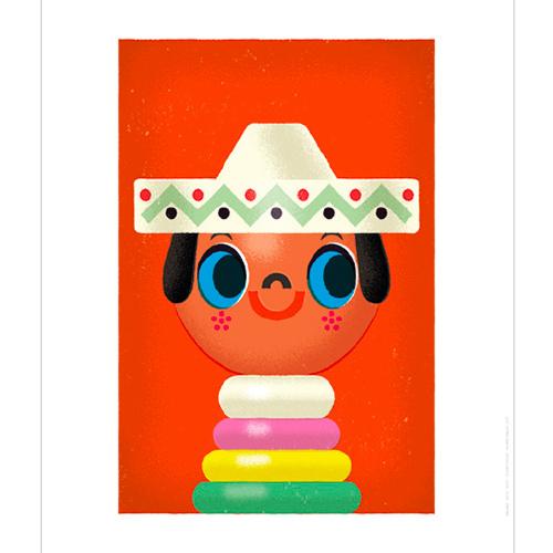 Poster le petit Mexicain