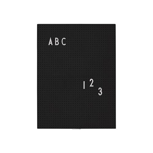Tableau lettre noir