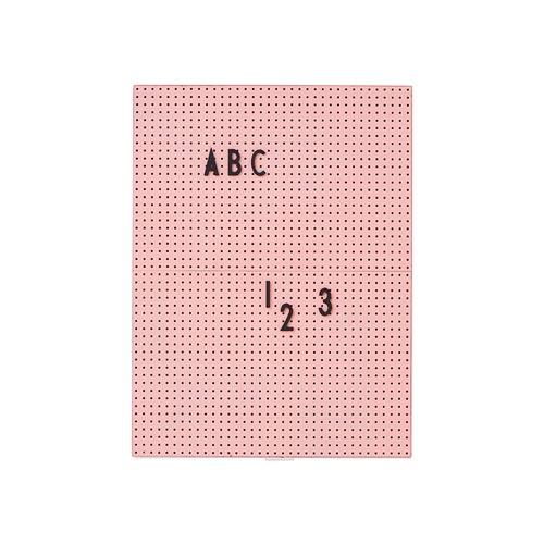 Tableau lettre rose
