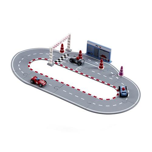 Circuit de course et voitures
