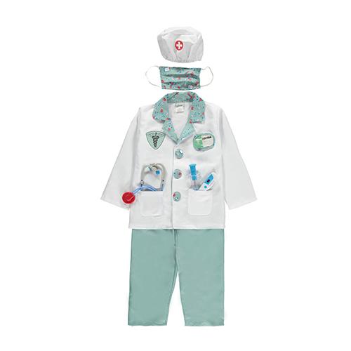 Costume de Docteur avec ses accessoires