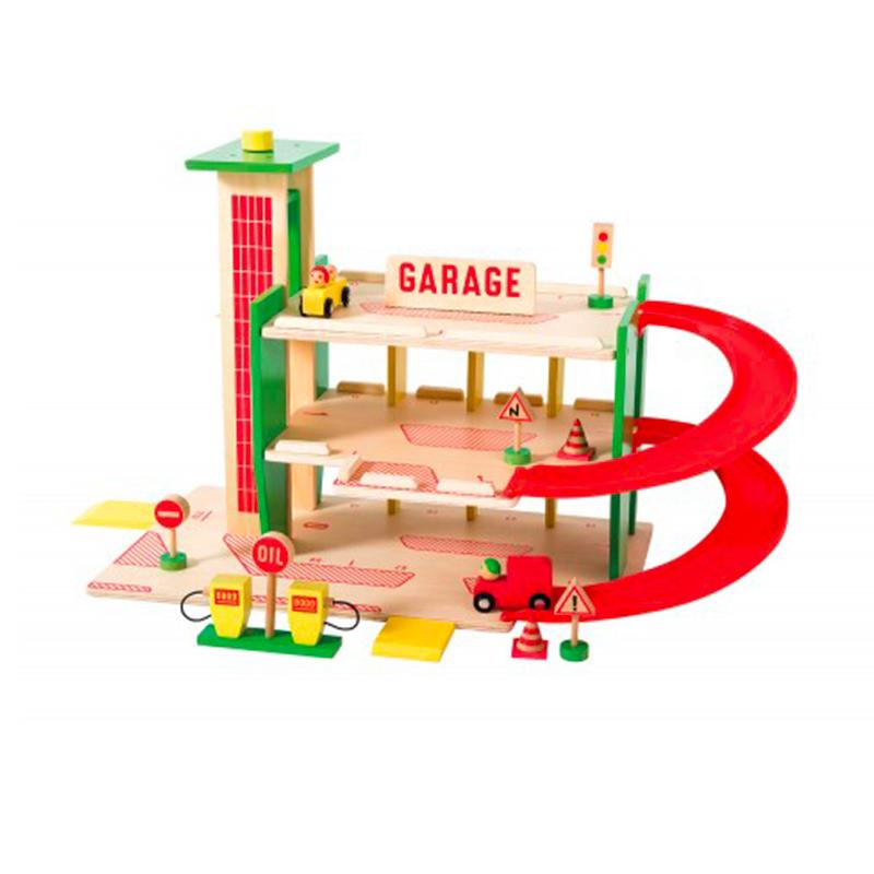 Grand Garage en bois