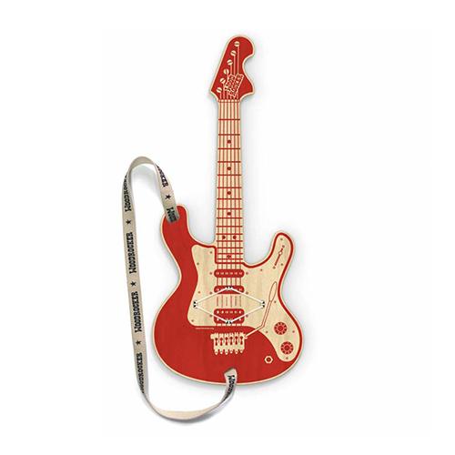 Guitare en bois connectée