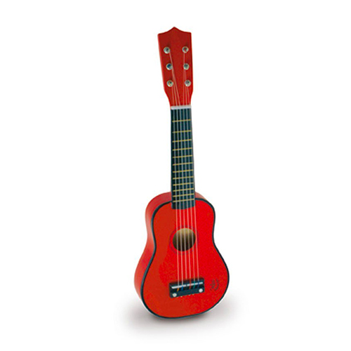 Guitare rouge
