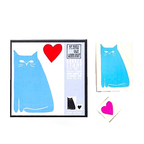 Kit de Tampons Love Cat