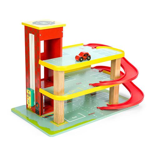 Le garage rouge de Dino