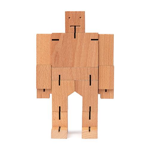 Robot articulé en bois de hetre