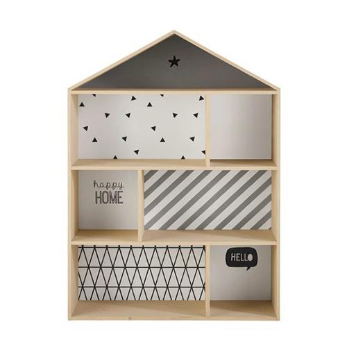 biblioth que salamandre 3 modules nonah kidzcorner. Black Bedroom Furniture Sets. Home Design Ideas