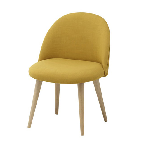 Chaise Mauricette jaune