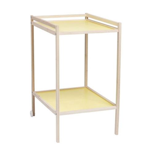 Table à langer bicolore