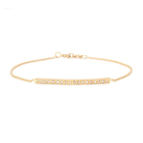 Bracelet Barette Diamant Femme