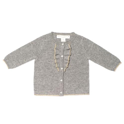 Cardigan gris Frédérique