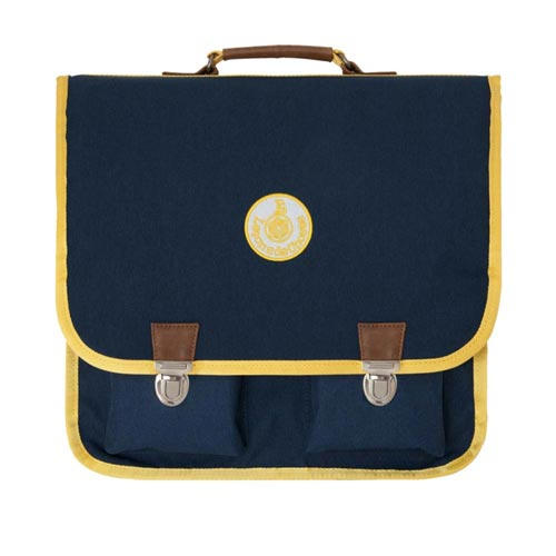 Cartable vintage marine