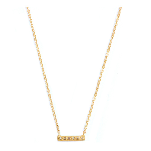 Collier Barette Diamant Enfant