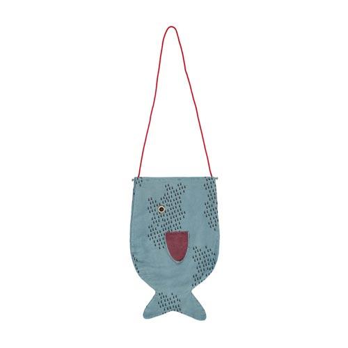 Grand sac bandoulière Poisson
