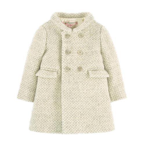 Manteau en laine vierge