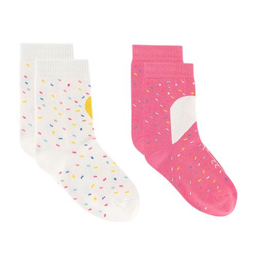 Paires de chaussettes fluo