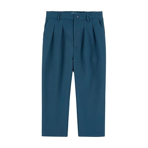 Pantalon carrot bleu