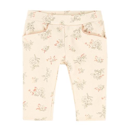 Pantalon fleurs bébé