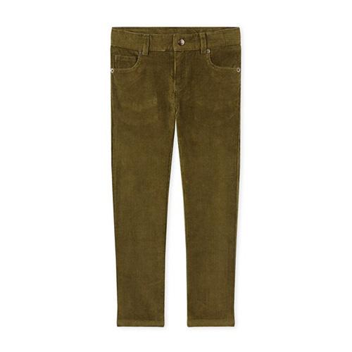 Pantalon velours kaki