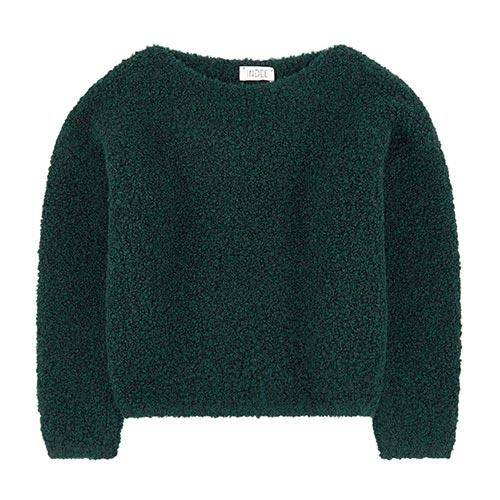 Pull en laine boucles