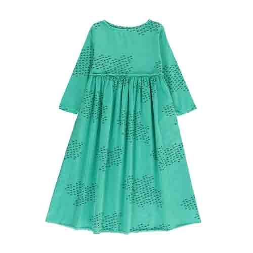 Robe Longue vert