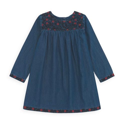 Robe Milaro bleu