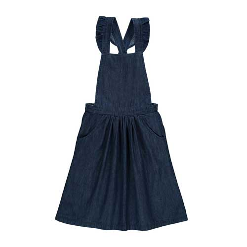 Robe salopette Chambray