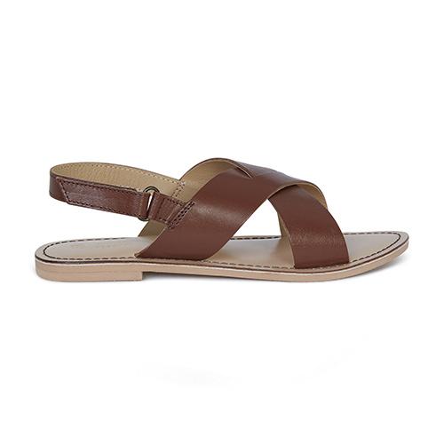 Sandales croisées