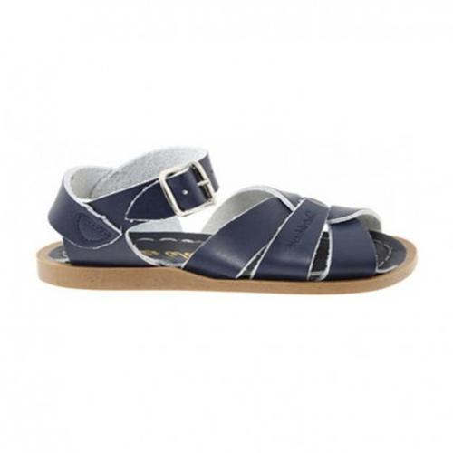 Sandales cuir Navy