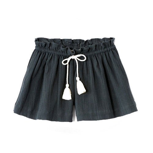Short Berny Charcoal