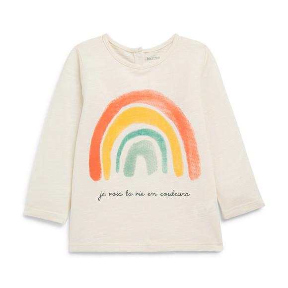 T-shirt Arc en ciel
