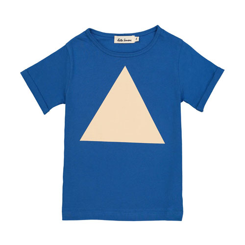 T-shirt imprimé triangle Plum