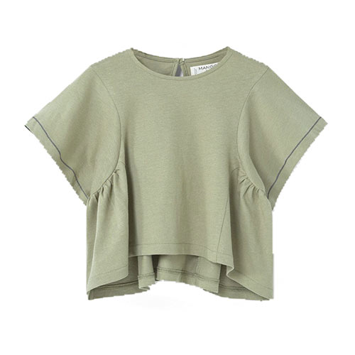 T-shirt manche chauve-souris