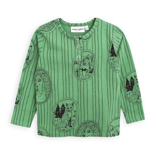 T-shirt Renard vert