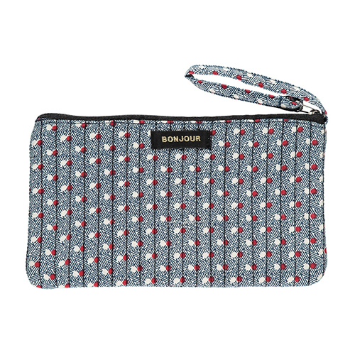 Trousse French Dot bleu