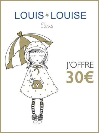 Carte Cadeaux Louis Louise