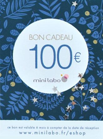 Carte Cadeaux Mini labo