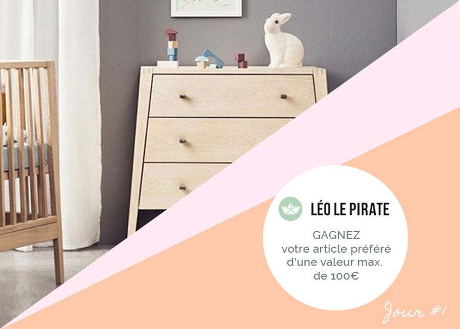 Happy B-Day # 1 - Léo le Pirate
